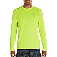 Mens Saucony Freedom Long Sleeve Technical Tops