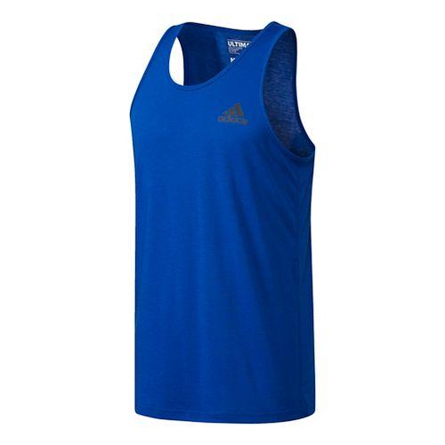 Mens Adidas Ultimate Sleeveless & Tank Tops Technical Tops - Royal XL