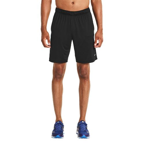 Mens Saucony Outkickin' Knit Unlined Shorts - Black L