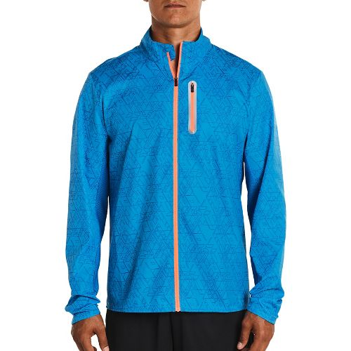 Mens Saucony Speed Of Lite Running Jackets - Brilliant Blue XL