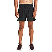 Mens Saucony Throttle Lined Shorts