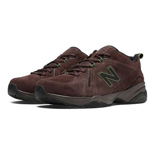 Mens New Balance 608v4 Cross Training Shoe - Brown 11.5