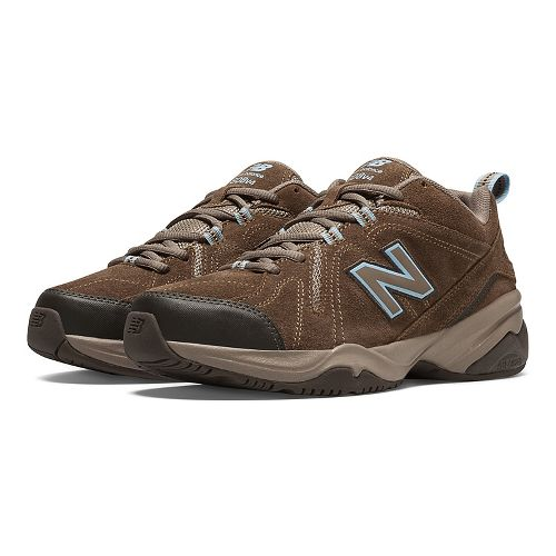 Womens New Balance608v4 Cross Training Shoe - Brown 12
