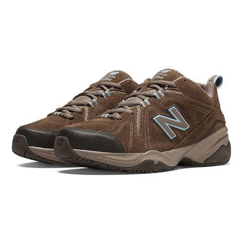 Womens New Balance608v4 Cross Training Shoe - Brown 7.5