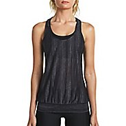 Womens Saucony Breeze Sleeveless & Tank Tops Technical Tops - Carbon L