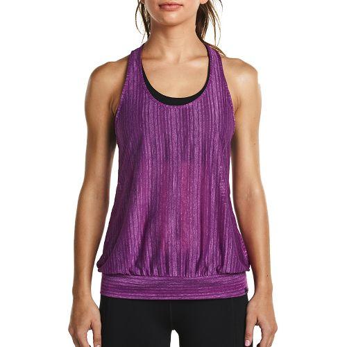 Womens Saucony Breeze Sleeveless & Tank Tops Technical Tops - Dahlia M
