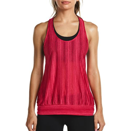 Womens Saucony Breeze Sleeveless & Tank Tops Technical Tops - Raspberry M