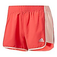 Womens Adidas 100M Dash Woven Lined Shorts