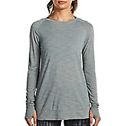 Womens Saucony Carefree Long Sleeve Technical Tops