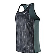 Mens New Balance Accelerate Graphic Singlet Sleeveless & Tank Technical Tops