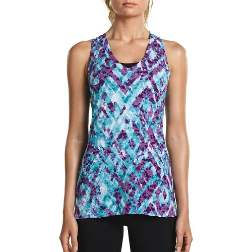 Womens Saucony Daybreak Sleeveless & Tank Tops Technical Tops - Barbados L