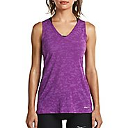 Womens Saucony Daybreak Sleeveless & Tank Tops Technical Tops
