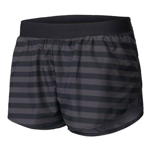 Womens Adidas Adizero Splits Shorts - Utility Black S