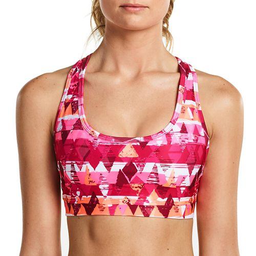 Womens Saucony Rock-It Top Sports Bras - Raspberry XL