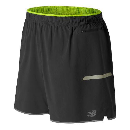 Mens New Balance Viz Unlined Shorts - Black XL