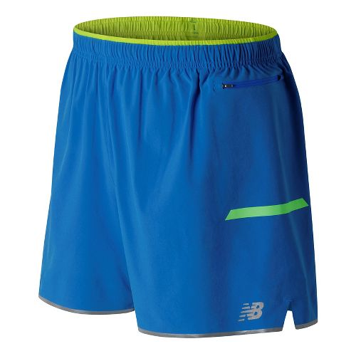 Mens New Balance Viz Unlined Shorts - Electric Blue XL