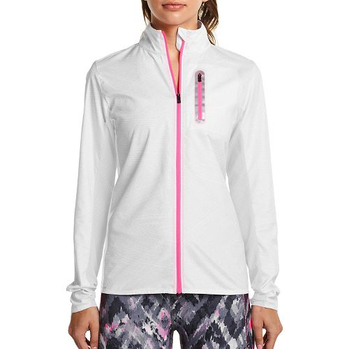 Womens Saucony Speed Of Lite Running Jackets - White XL
