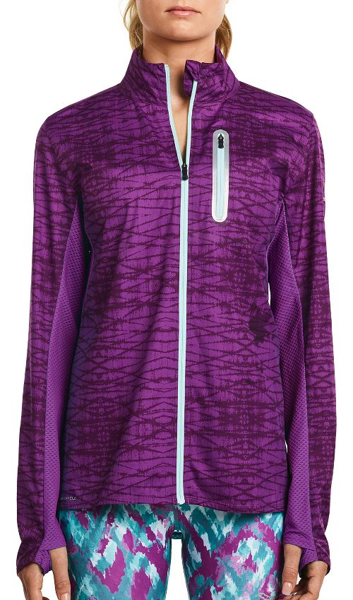 Womens Saucony Speed Of Lite Running Jackets - Dahlia XL