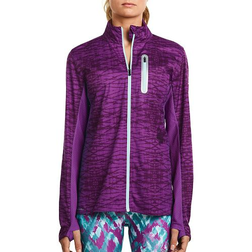 Womens Saucony Speed Of Lite Running Jackets - Dahlia XS