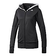 Womens Adidas Beyond The Run Hoodie Running Jackets