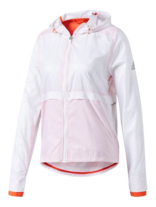 Womens Adidas Clear Goals Jacket Cold Weather Jackets - White XL