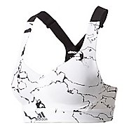Womens Adidas Committed Chill Printed Sports Bras