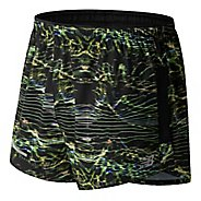 "Mens New Balance Impact 3"" Split Print Lined Shorts"