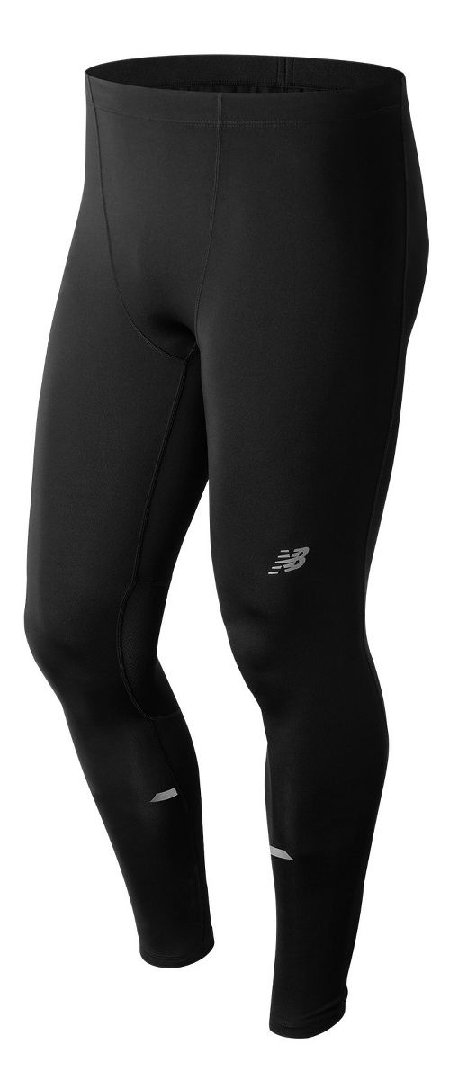 Mens New Balance Impact Tights - Black XL