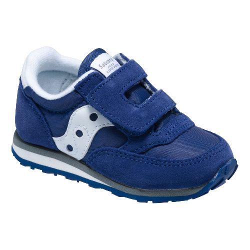Kids Saucony Baby Jazz Hook and Loop Casual Shoe - Cobalt Blue 7C