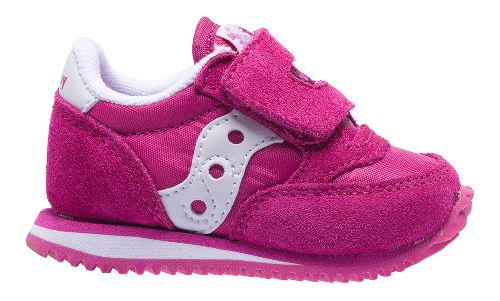 Kids Saucony Baby Jazz Hook and Loop Casual Shoe - Paradise Pink 5C