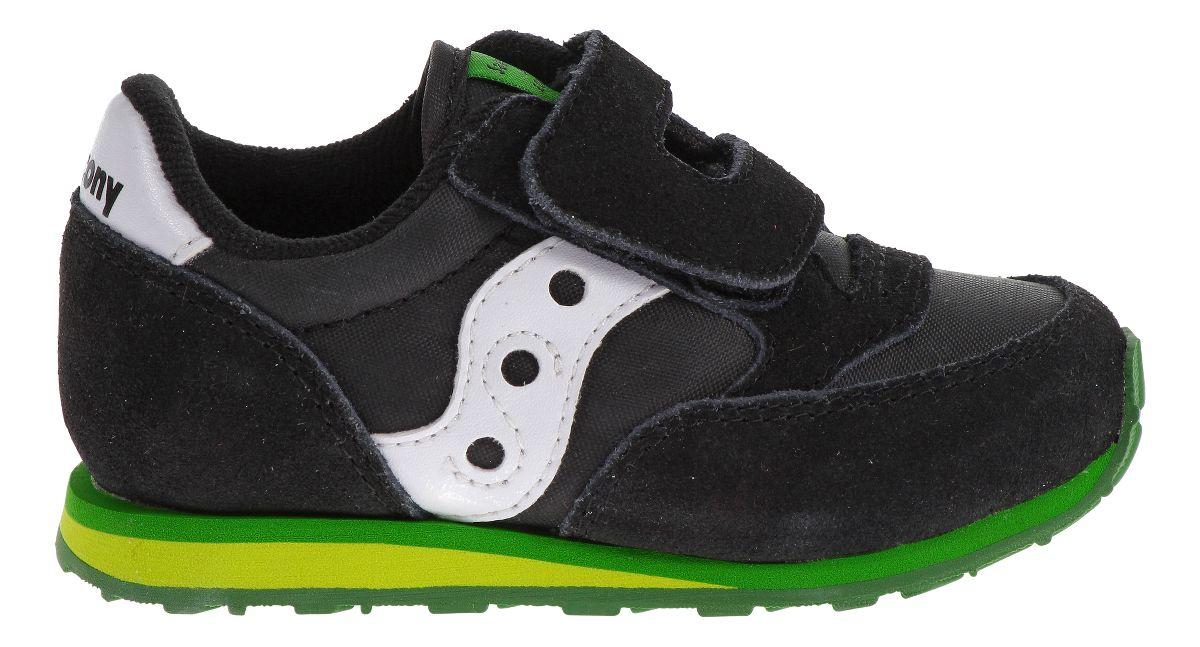 Kids Saucony Baby Jazz Hook and Loop Casual Shoe