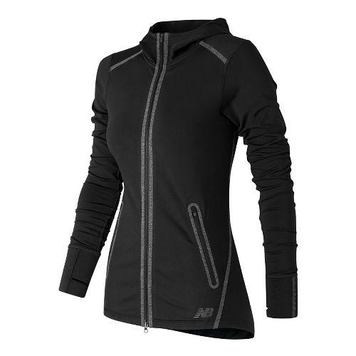 Womens New Balance Trinamic Running Jackets - Black S