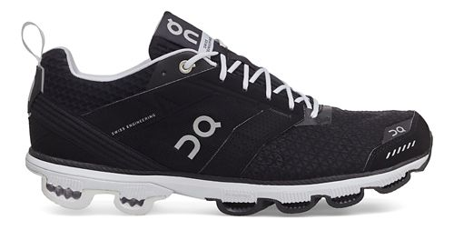 Womens On Cloudcruiser Running Shoe - Black/White 10.5