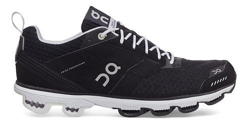 Womens On Cloudcruiser Running Shoe - Black/White 9.5