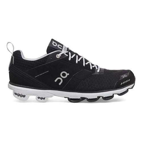 Womens On Cloudcruiser Running Shoe - Black/White 6.5