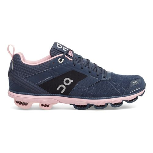 Womens On Cloudcruiser Running Shoe - Dark/Blush 9