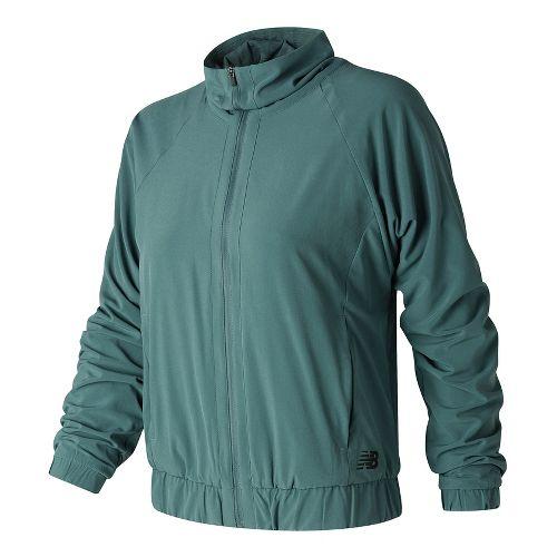 Womens New Balance Fashion Casual Jackets - Typhoon L
