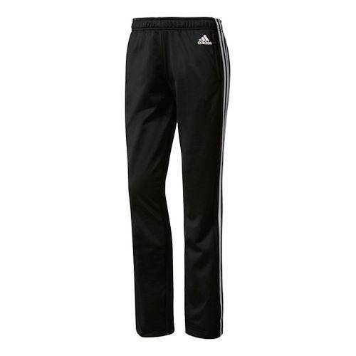 Womens Adidas Designed-2-Move Straight Pants - Black/White XL