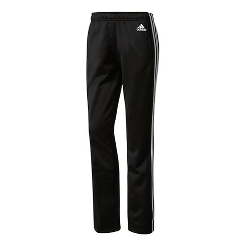 Womens Adidas Designed-2-Move Straight Pants - Black/White XXL