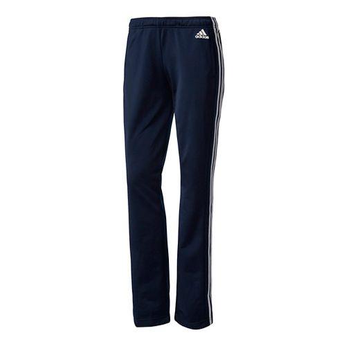 Womens Adidas Designed-2-Move Straight Pants - Navy XL
