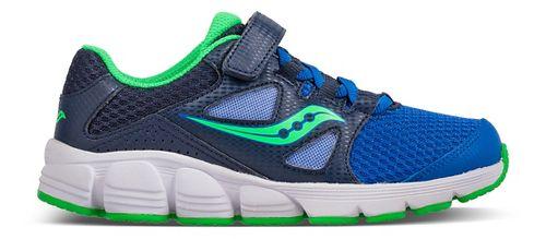 Kids Saucony Kotaro 4 A/C Running Shoe - Blue/Green 11.5C