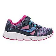 Kids Saucony Kotaro 4 A/C Running Shoe - Navy/Multi 2Y