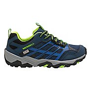 Kids Merrell Moab FST Low WTRPF Trail Running Shoe - Blue 4.5Y
