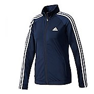 Womens Adidas Designed-2-Move Track Long Sleeve Technical Tops