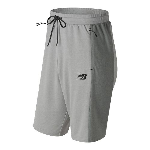 Mens New Balance 247 Tech Unlined Shorts - Athletic Grey L