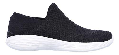 Womens Skechers YOU Casual Shoe - Black/White 6.5