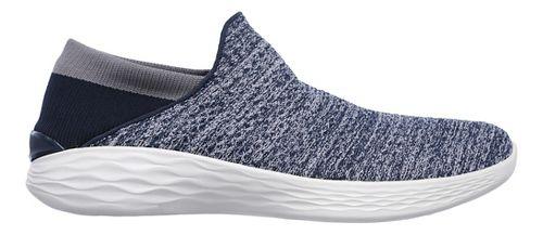 Womens Skechers YOU Casual Shoe - Black/White 9.5