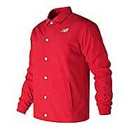 Mens New Balance Classic Coaches Casual Jackets Technical Tops
