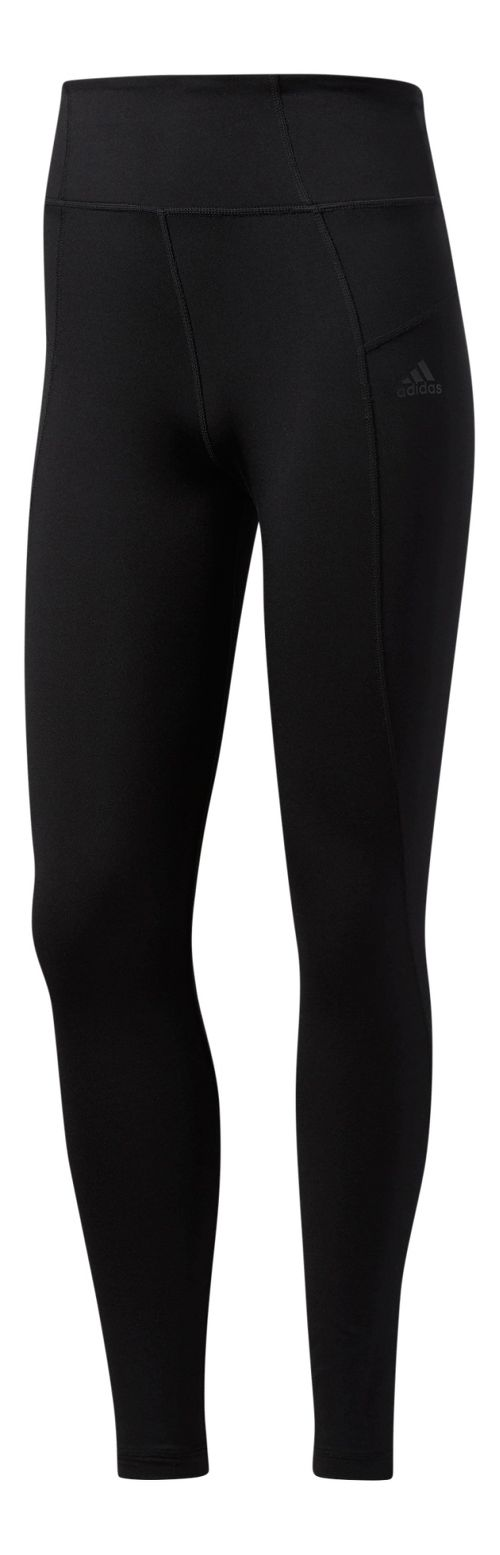 Womens Adidas Performer High-Rise Long Compression Tights - Black L