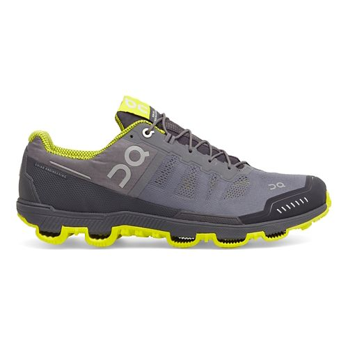 Mens On Cloudventure Trail Running Shoe - Grey/Sulfur 12.5